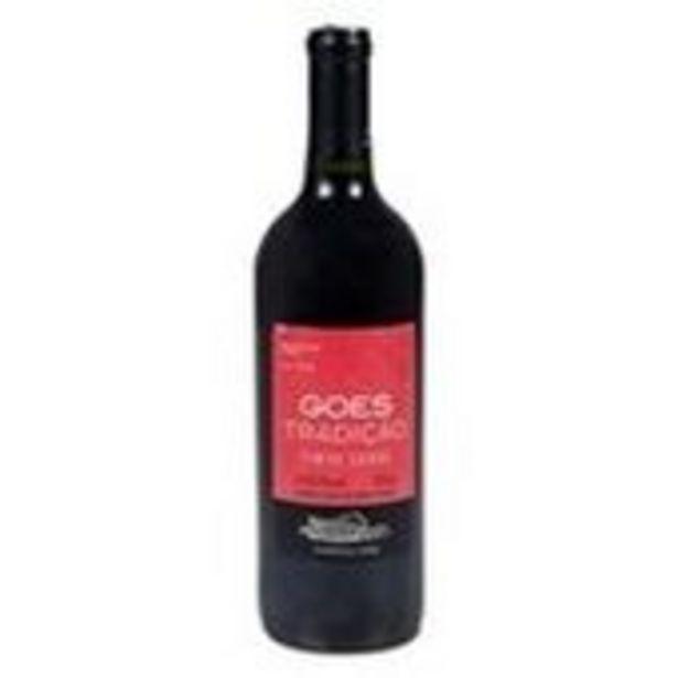 Oferta de Vinho Góes Tradição Tinto Suave 750ml por R$16,9