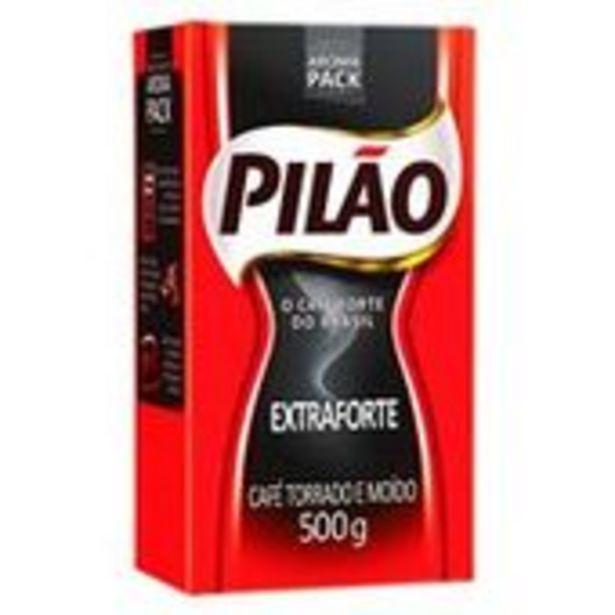 Oferta de Café A Vácuo Pilão Extra Forte 500g por R$9,98