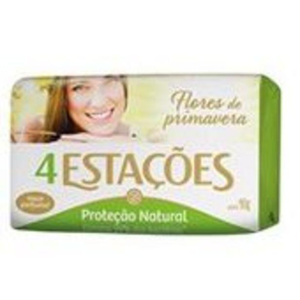 Oferta de Sabonete 4 Estacoes Primavera 90g por R$1,79