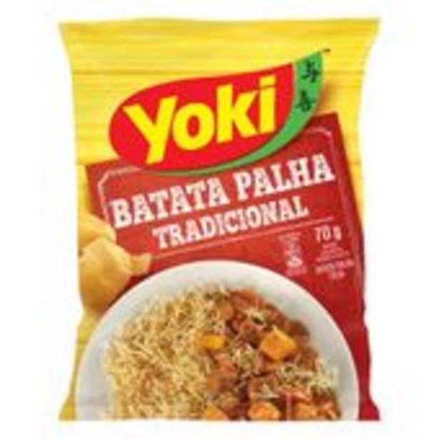 Oferta de Batata Palha Yoki Tradicional 70g por R$4,99