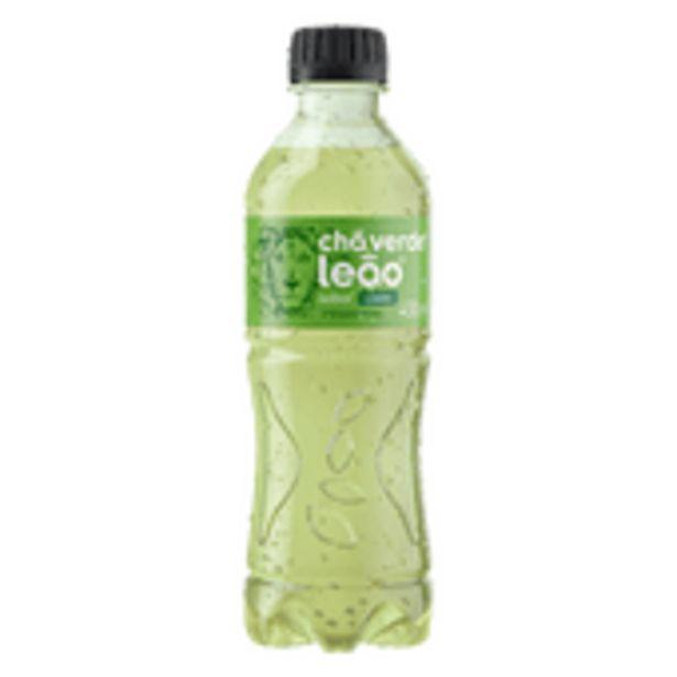 Oferta de Chá Verde Leão Zero Limão 450ml por R$3,85