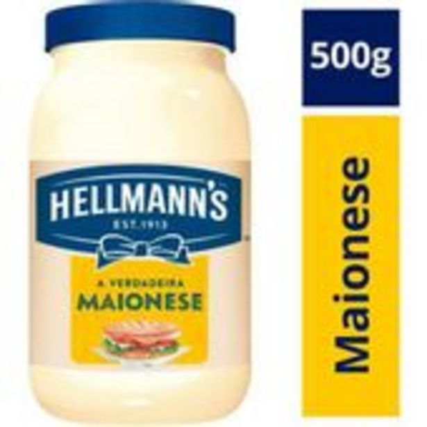 Oferta de Maionese Hellmanns 500g por R$7,29