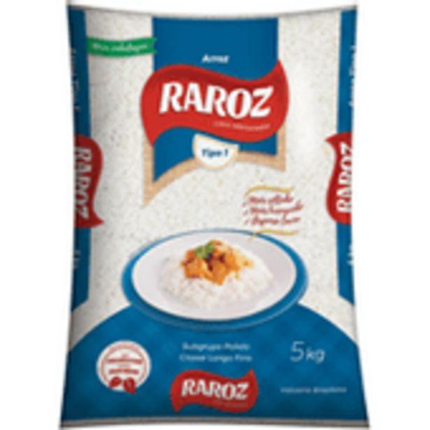 Oferta de Arroz Raroz 5kg por R$19,99
