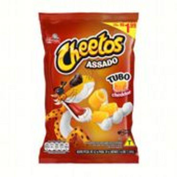 Oferta de Salgadinho Cheetos Tubo Cheddar 39g por R$2,39