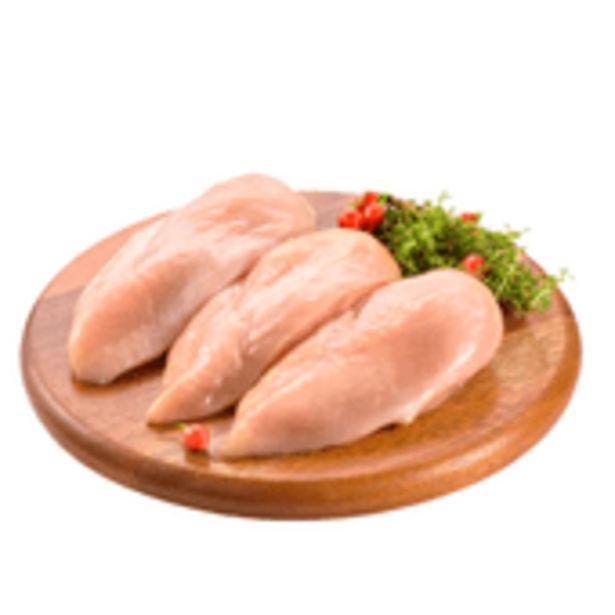 Oferta de Peito De Frango Sem Osso - Embalagem 1kg por R$22,39