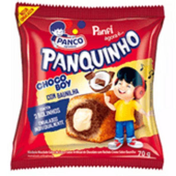 Oferta de Bolo Panfi 70g Panco Chocoboy C/Baun por R$2,58