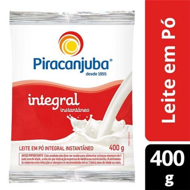 Oferta de Leite em Pó Integral Instantâneo Piracanjuba 400G por R$10,99