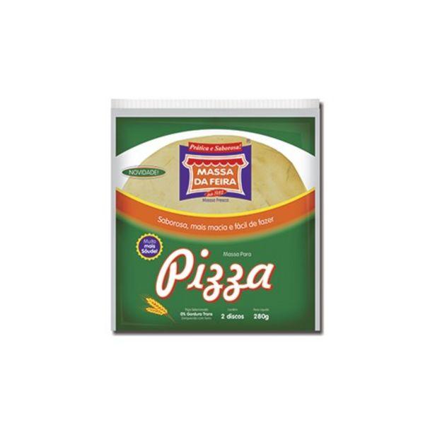 Oferta de Massa de Pizza Massa da Feira Embalagem 280G com 2 Unidades por R$9,29