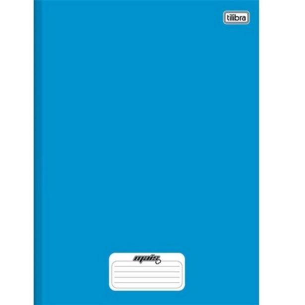 Oferta de Caderno Tilibra Mais Brochura Azul 48 Folhas por R$3,99