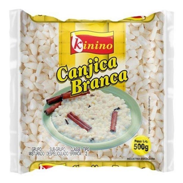 Oferta de Canjica Branca Kinino Pacote 500G por R$4,59