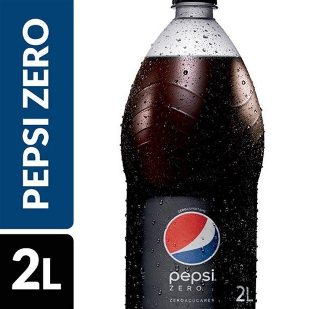Oferta de Refrigerante Pepsi Cola Zero 2L por R$5,99