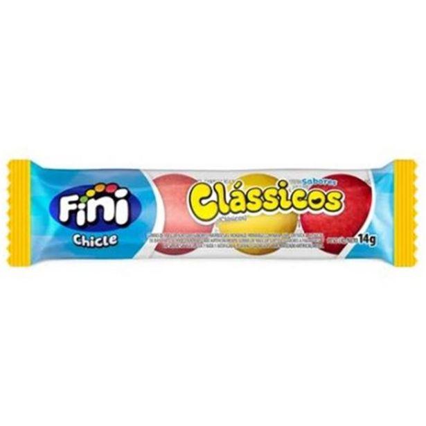 Oferta de Chiclete Fini Classicos 14G por R$1,49