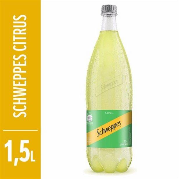 Oferta de Refrigerante Schweppes Citrus Garrafa 1,5L por R$3,99