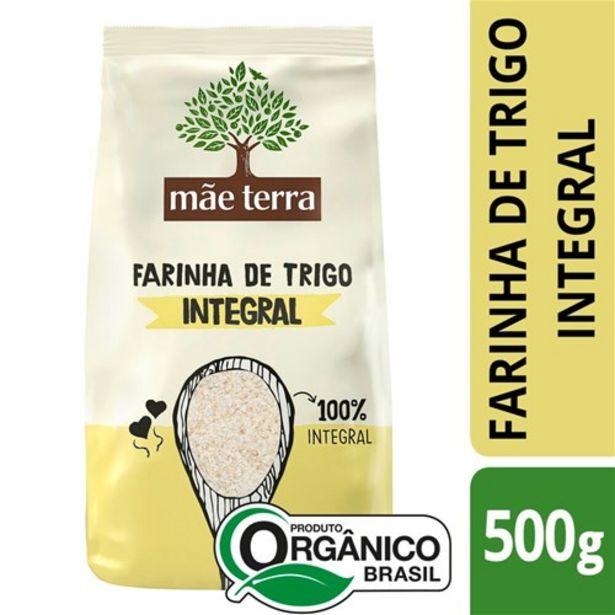 Oferta de Farinha de Trigo Orgânica Mãe Terra 500G por R$7,64