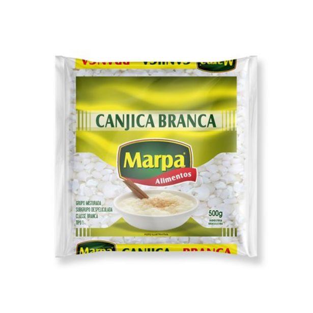 Oferta de Canjica Branca Marpa Embalagem 500G por R$4,59