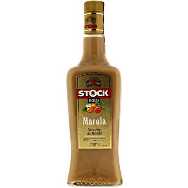 Oferta de Licor Stock Gold Marula Garrafa 720Ml por R$49,9
