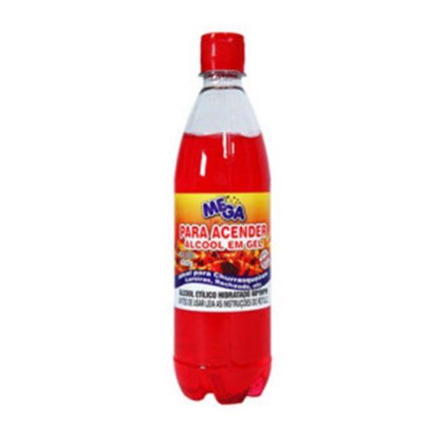 Oferta de Álcool em Gel Mega para Churrasqueira Embalagem 480G por R$8,99