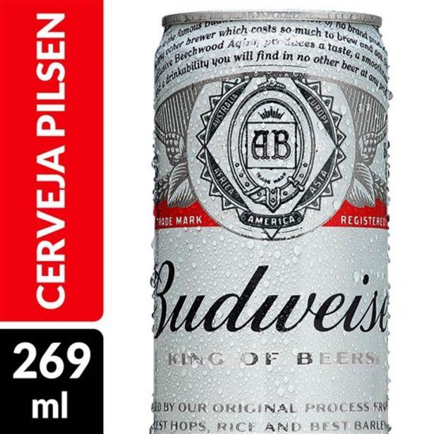 Oferta de Cerveja Budweiser 269Ml por R$2,49