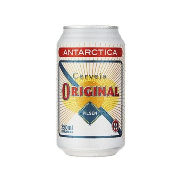 Oferta de Cerveja Original Antarctica 350Ml por R$2,99