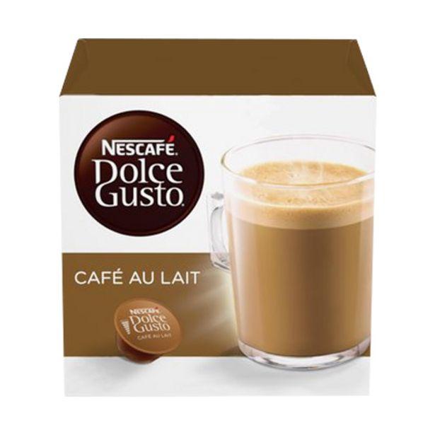 Oferta de Café Em Cápsula Nescafé Dolce Gusto Café Au Lait 10 Cápsulas por R$16,99