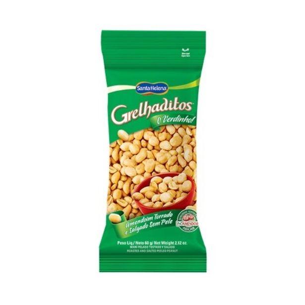 Oferta de Amendoim Grelhadito´s Sem Pele Salgado 100g por R$3,97