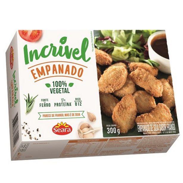 Oferta de Empanado Seara Incrivel 300g por R$16,9