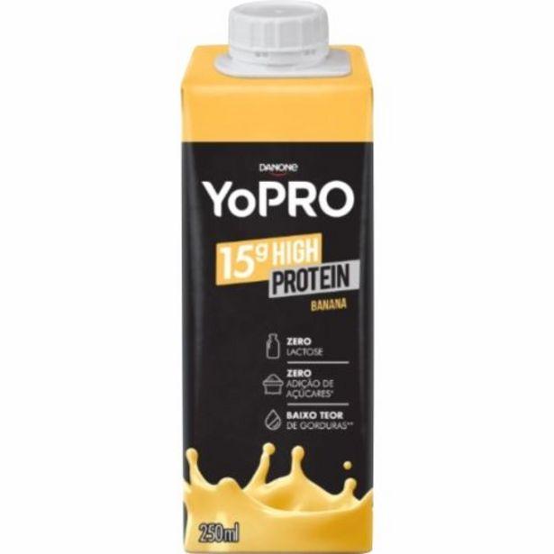 Oferta de Yopro Danone 15g De Proteínas Banana 250ml por R$6,39