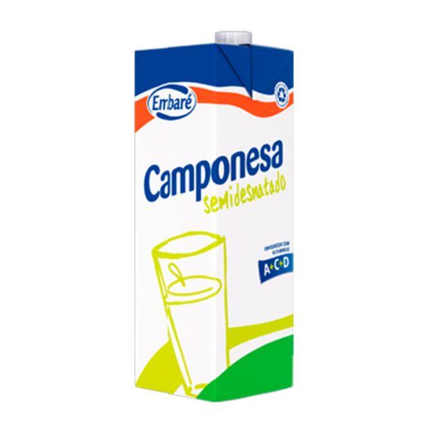 Oferta de Leite Camponesa Semidesnatado 1l por R$6,29