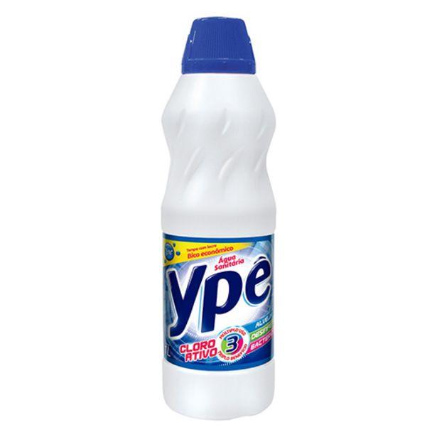 Oferta de Água Sanitária Ypê 1l por R$3,47