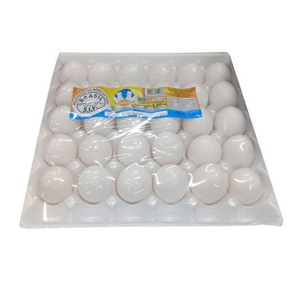 Oferta de Ovos Luna Grande Brancos 30 Ovos por R$15,58