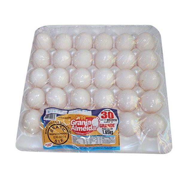 Oferta de Ovos Granja Almeida Extra Branco Com 30 Ovos por R$9,99