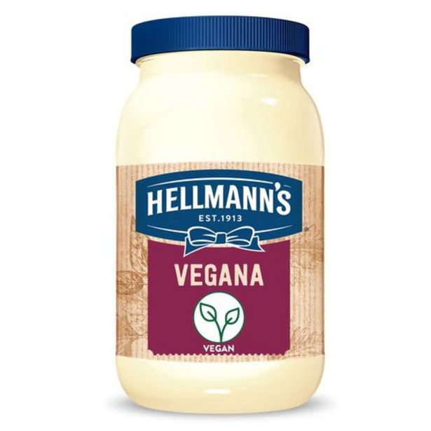 Oferta de Maionese Hellmann S 250g Vegano por R$8,31