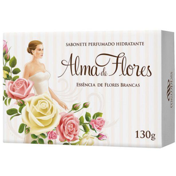 Oferta de Sab.alma De Flores 130g Essenc.fl.branc por R$4,99