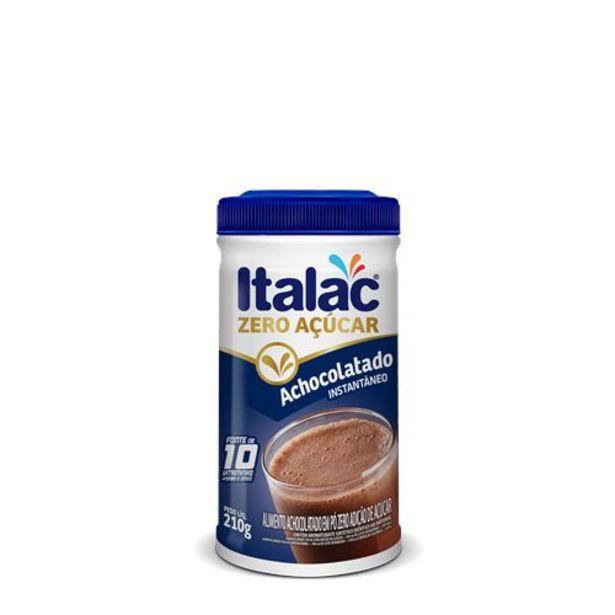 Oferta de Achocolatado Em Pó Italac Pt 210g Zero Acuc por R$11,47