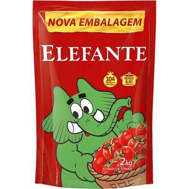 Oferta de Extrato Tomate Elefante 2kg por R$19,65