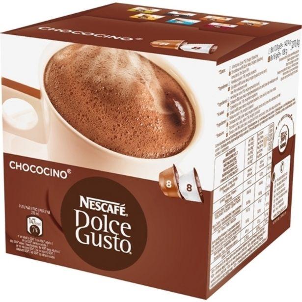 Oferta de Cafe Chococino Nescafe Dolce Gusto 270gr por R$26,99