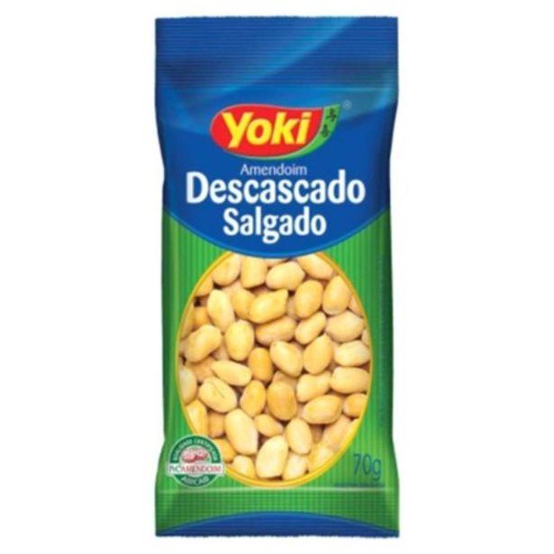Oferta de Amendoim Yoki Descascado Salgado 70gr por R$3,9