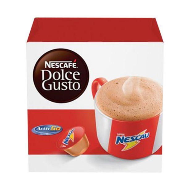 Oferta de Café Em Cápsula Nescafé Dolce Gusto Nescau 10 Cápsulas por R$16,99