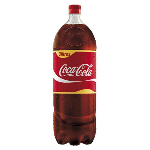 Oferta de Coca Cola Pet 3l por R$8,49
