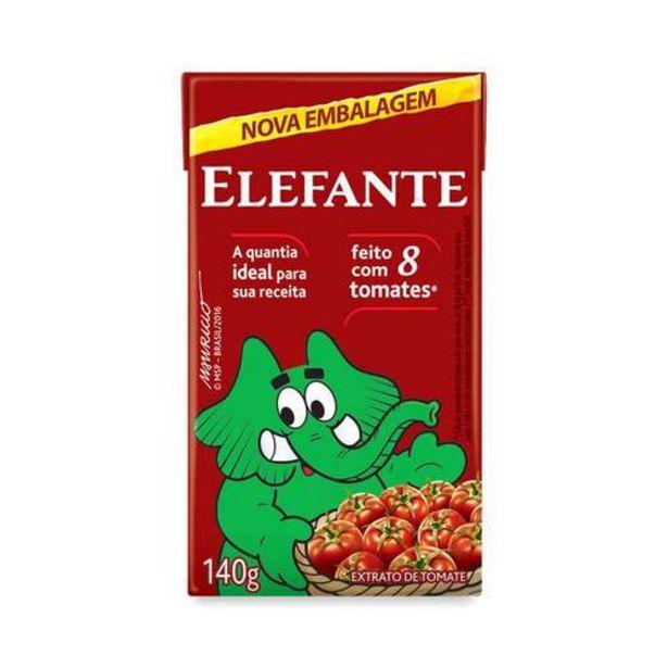 Oferta de Extrato Tomate Elefante 140g por R$2,58
