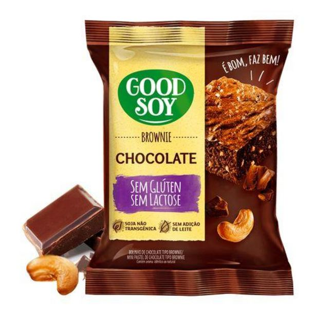 Oferta de Brownie S Gluten Chocolate 38g por R$4,83
