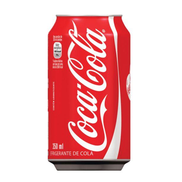 Oferta de Coca-cola Lata 350ml por R$2,69