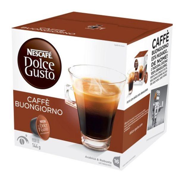 Oferta de Café Em Cápsula Nescafé Dolce Gusto Caffè Matinal 16 Cápsulas por R$26,8