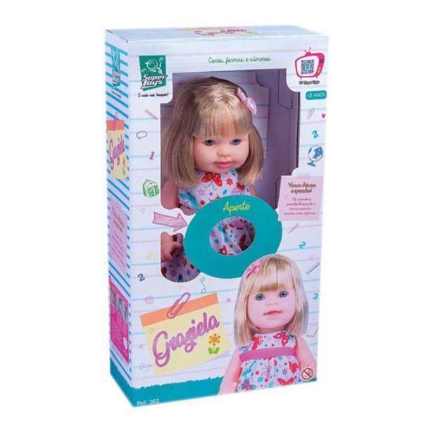 Oferta de Boneca Graziela 363 Super Toys por R$67,46