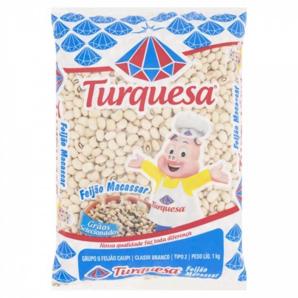 Oferta de Feijao Turquesa Macassar Tp-1 1kg por R$9,99