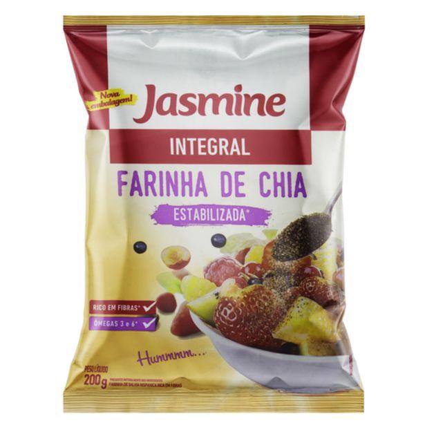 Oferta de Farinha De Chia Jasmine 200gr por R$13,99