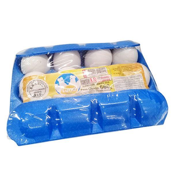 Oferta de Ovos Luna Grande Brancos 12 Ovos por R$6,23