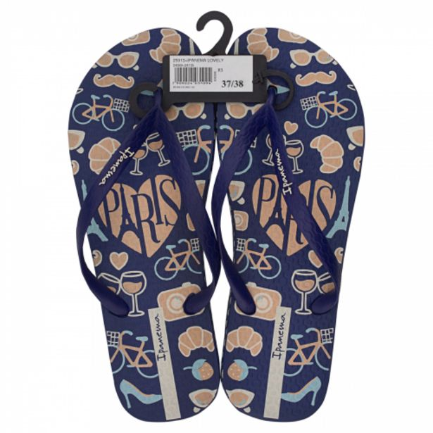 Oferta de Sandália Azul Lovely Ipanema Nº 37/38 por R$24,99