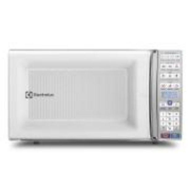 Oferta de Micro-ondas Electrolux 34L Branco MEO44 1500W - 947005139 220V por R$599