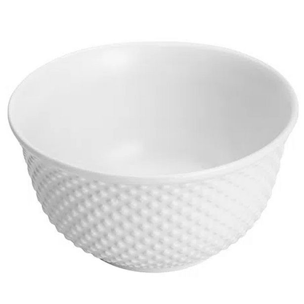 Oferta de Bowl de Porcelana New Bone Pearl Branca Lyor 7x12,5cm por R$17,9